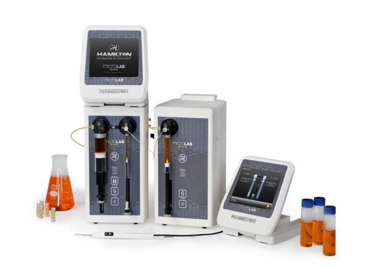 Máy pha loãng mẫu Microlab 600