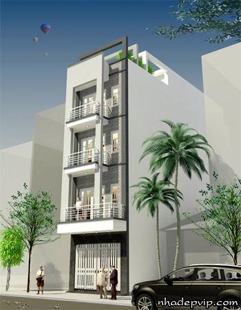 đơn gia xây dựng nhà phố tại tphcm