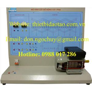 Mô hình cắt bổ động cơ điện KĐB 1pha, 3 pha AC