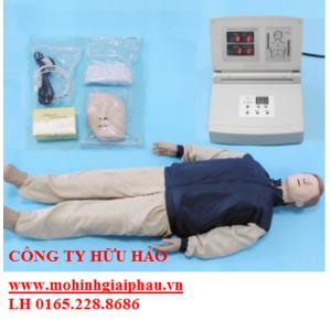 Mô hình CPR sơ cứu toàn thân có modul hiển thị