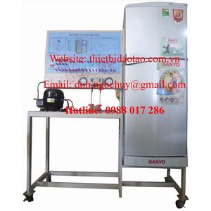 Mô hình dàn trải tủ lạnh làm lạnh trực tiếp