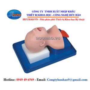 Mô hình đặt nội khí quản trẻ sơ sinh