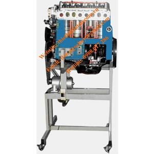 Mô hình động cơ dầu 4 xi lanh hoạt động được.