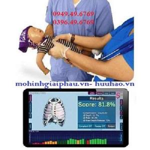 Mô hình hồi sức cấp cứu trẻ sơ sinh có kết nối máy tính