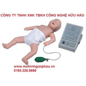 Mô hình hồi sức tim phổi cho trẻ em có Modul hiển thị
