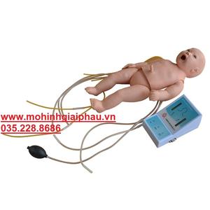 Mô hình hồi sức tim phổi trẻ sơ sinh