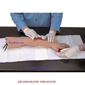 Mô hình huấn luyện sơ cứu cánh tay bị chảy máu nghiêm trọng