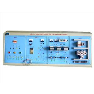 Mô hình mạch điện khống chế các máy công nghiệp