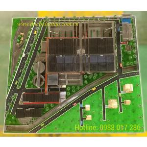 Mô hình sa bàn nhà máy xử lý nước