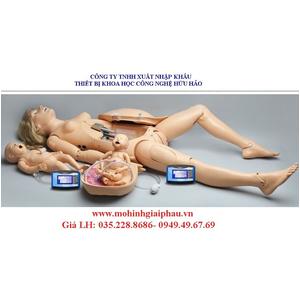Mô hình sản khoa cao cấp với trẻ sơ sinh S550
