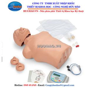 Mô hình sơ cấp cứu bán thân có khử rung tim