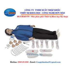 Mô hình thực hành sơ cấp cứu toàn thân có kết nối thiết bị điện