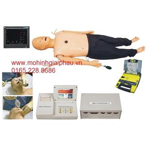 Mô hình đào tạo kỹ năng sơ cứu tim mạch ACLS850