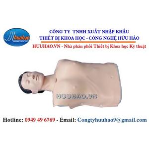 Mô hình thực hành cấp cứu bán thân CPR100A