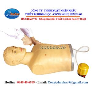 Mô hình thực hành chọc dò tràn khí màng phổi