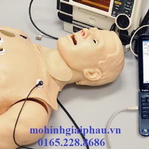 Mô hình thực hành đặt ECG 12 kênh
