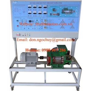 Mô hình thực hành máy phát điện 3 pha