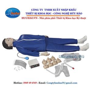 Mô hình thực hành sơ cấp cứu toàn thân có bộ điều khiển