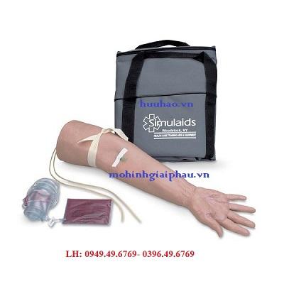 Mô hình tiêm tĩnh mạch cánh tay cho người già