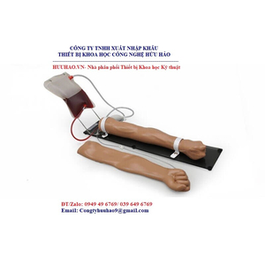 Mô hình tiêm truyền tĩnh mạch cánh tay S400