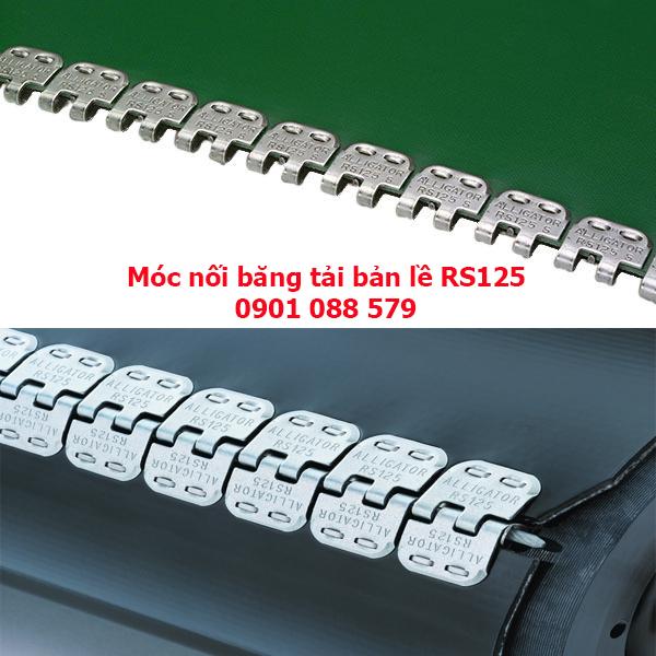 Móc nối băng tải bản lề - Đinh bản lề RS62-RS125-RS187