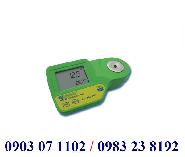KHÚC XẠ KẾ ĐO ĐỘ BRIX/NHIỆT ĐỘ HIỂN THỊ SỐ Model MA882