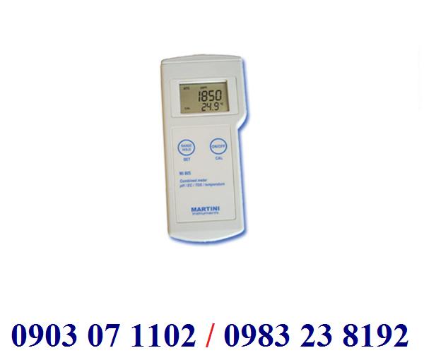 MÁY ĐO pH/EC/TDS/NHIỆT ĐỘ CẦM TAY ĐIỆN TỬ HIỆN SỐ Model Mi805