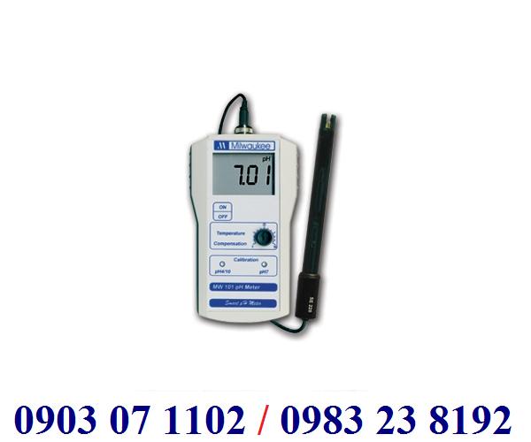 MÁY ĐO pH ĐẤT CẦM TAY ĐIỆN TỬ HIỆN SỐ Model MW 101