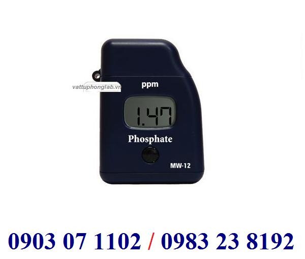 MÁY QUANG PHỔ ĐO PHOSPHATE ĐIỆN TỬ HIỆN SỐ Model MW12