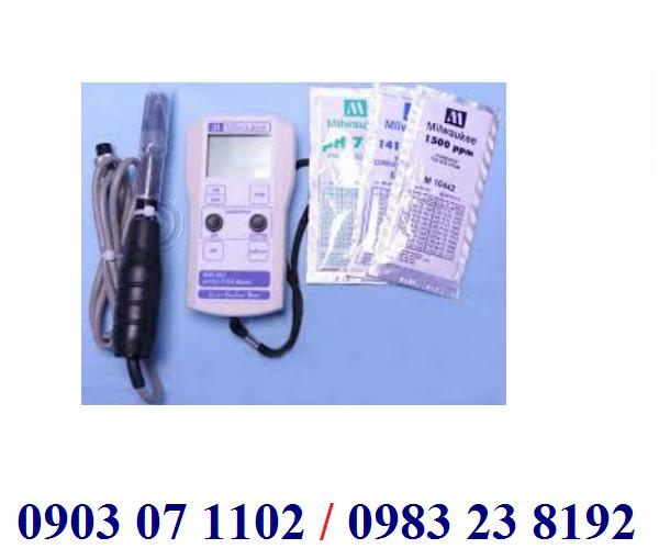 MÁY ĐO pH/EC/TDS CẦM TAY ĐIỆN TỬ HIỆN SỐ Model MW802