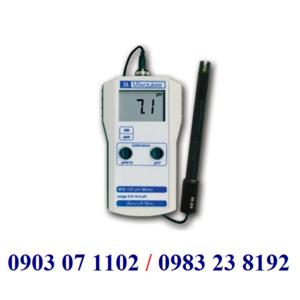 MÁY ĐO pH CẦM TAY ĐIỆN TỬ HIỆN SỐ MODEL:MW 100