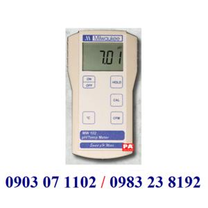 MÁY ĐO pH/NHIỆT ĐỘ CẦM TAY ĐIỆN TỬ HIỆN SỐ Model:MW 102