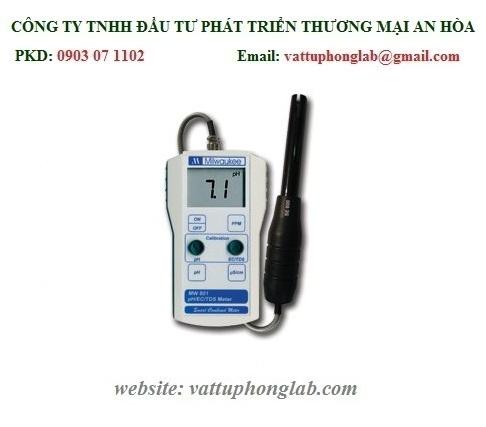 MÁY ĐO PH/EC/TDS CẦM TAY ĐIỆN TỬ MODEL:MW801