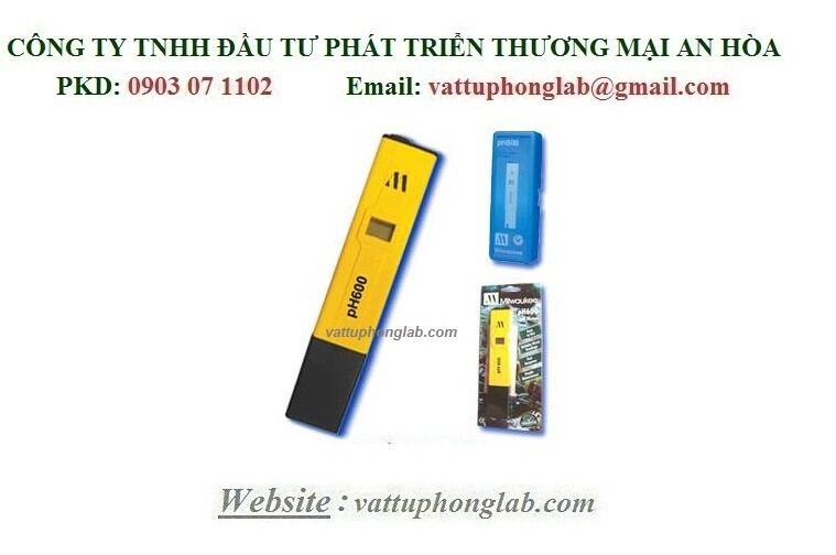 BÚT ĐO PH ĐIỆN TỬ MODEL:PH600