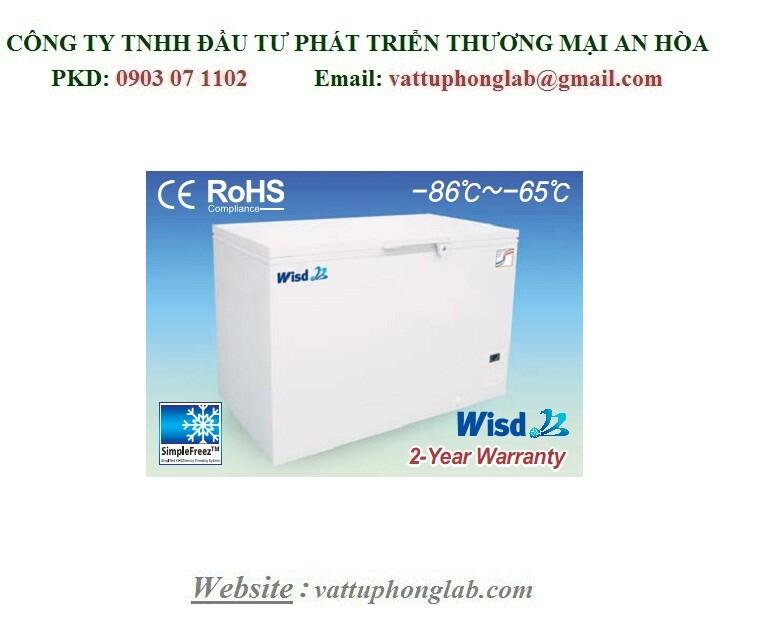 TỦ LẠNH ÂM SÂU ECONOMIC NẰM NGANG - 86℃ DUNG TÍCH 237 LÍT MODEL:WUF-21
