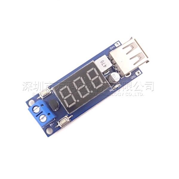 Module Buck DC-DC (IN +4.5~40VDC OUT 5V/2A USB) Sạc Điện Thoại