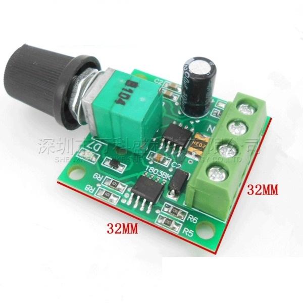 Module điều khiển tốc độ động cơ PWM 1.8-12V 2A
