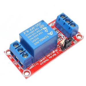 Module relay 1 kênh hỗ trợ cách ly quang tùy chỉnh mức tín hiệu
