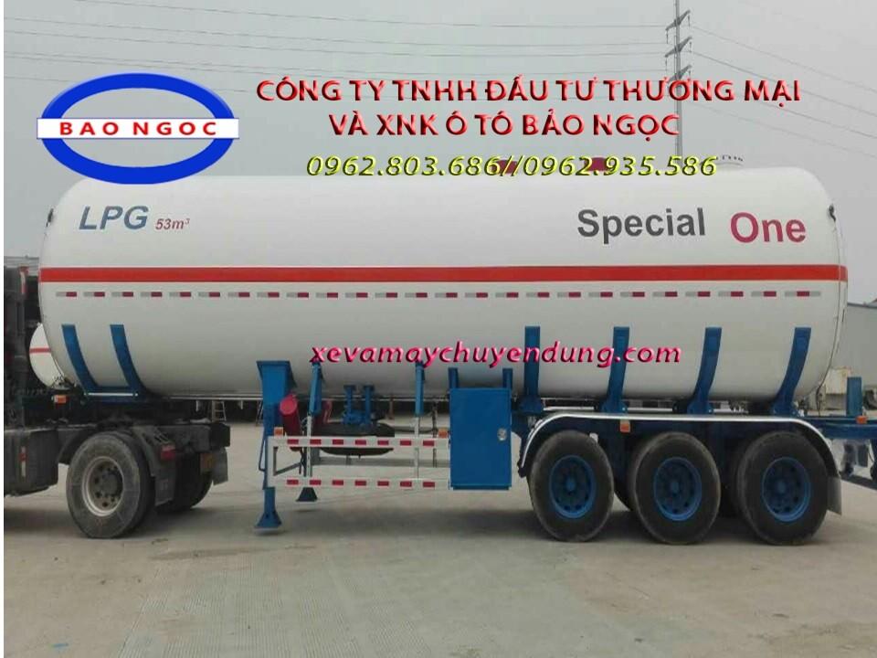 BÁN MOOC CHỞ KHÍ GAS 53 M3