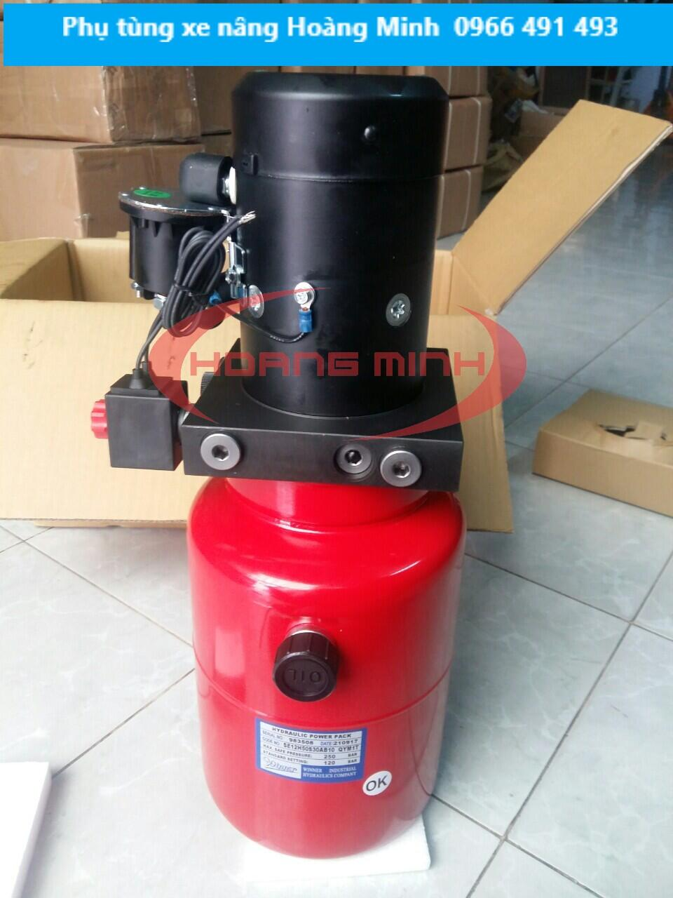 Motor điện 12V Sử dụng cho xe nâng điện bán tự động | Đài Loan