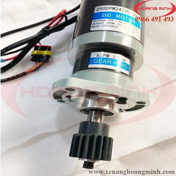 motor điện trợ lực lái xe nâng điện Heli