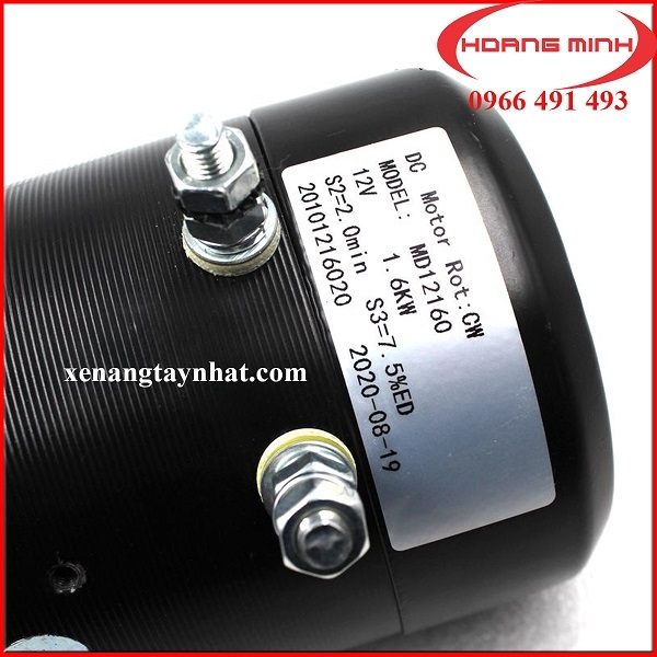 Motor xe điện bán tự động DC12V 1.6KW