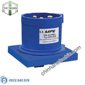 Phích Cắm Công Nghiệp 2P+E 32A IP44 - MPN623 - MPE
