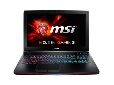 MSI GE72 6QD 619XVN Apache Pro - Core i7-6700HQ _8GB_1TB 7k2_128GB SSD_GTX 960M 2GB_Multi Color KB