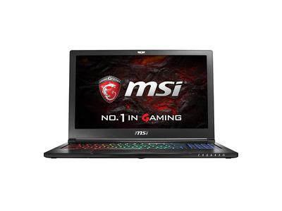 MSI GS63VR 6RF-076XVN VGA NVIDIA GTX 1060 6GB VRAM GDDR5, Ram 16GB DDR4, SSD 128 + 1000GB i7 6700HQ
