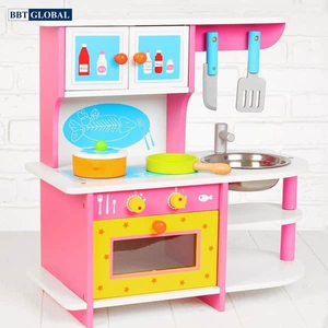 Đồ chơi mô hình BBT GLOBAL - Đồ chơi nấu ăn BBT Global gỗ cao cấp cho bé - MSN15024