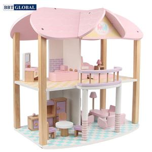Đồ chơi mô hình BBT GLOBAL - Đồ chơi ngôi nhà búp bê bằng gỗ cao cấp - MSN19029