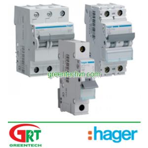 MU116A | Hager MU116A | MCB 1P 16A 6KA C TYPE | Cầu dao tự động MCB 1P 16A 6KA C TYPE | Hager