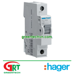 MU125A | Hager MU125A | MCB 1P 25A 6KA - MU125A | Cầu dao tự động | Hager Vietnam