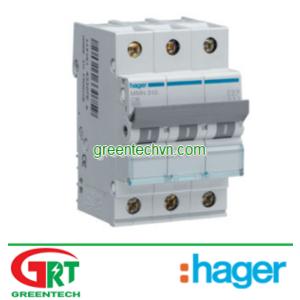 MU350A | Hager MU350A | MCB 3P 50A 6KA - MU350A | Cầu dao tự động | Hager Vietnam